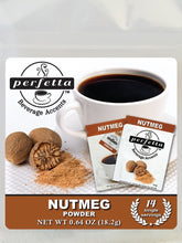 Nutmeg Powder Travel Bag - 14 Packets Coffee Accents
