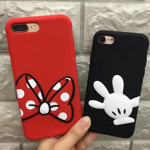Cute 3D Cartoon Silicone Case