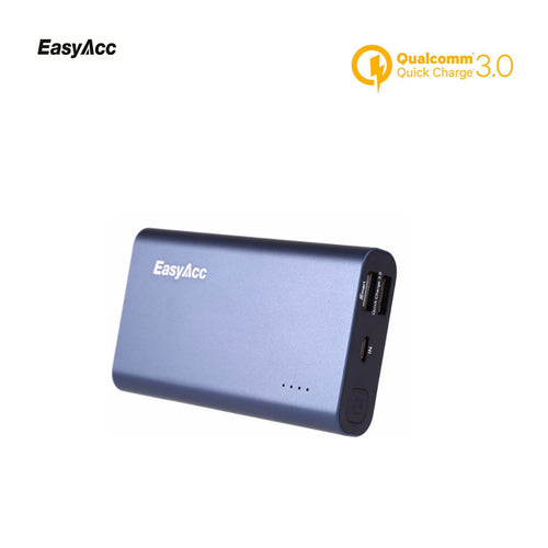 Easyacc 10000mAh Powerbank Slim with Quick Charge