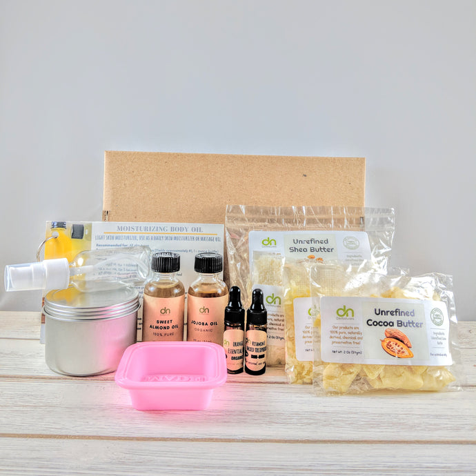 Body Moisturizer DIY Kit