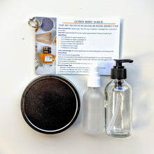 Body Cleansing and Exfoliating DIY Kit