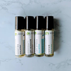 Soothe Essential Oil Synergy Blend | Aromatherapy Roll on | Soothing Aromatherapy Blend