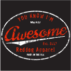 You Know I'm Awesome Logo