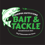 Reddog Outfitters Bait & Tackle Logo