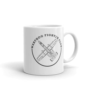 A10 Warthog Fighter Club Airplane Coffee Mug