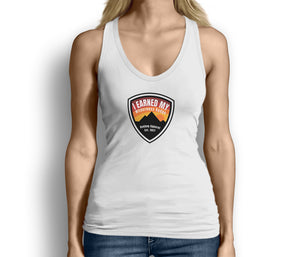 I Earned My Wilderness Badge Womens Tank Top White