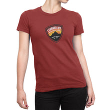 I Earned My Wilderness Badge Womens Shirt Red