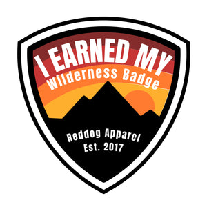 I Earned My Wilderness Badge Mens Tshirt