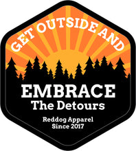Get Outside Embrace the Detours Logo