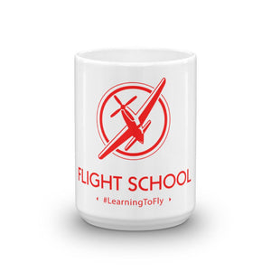 Flight School Coffee Mug Large