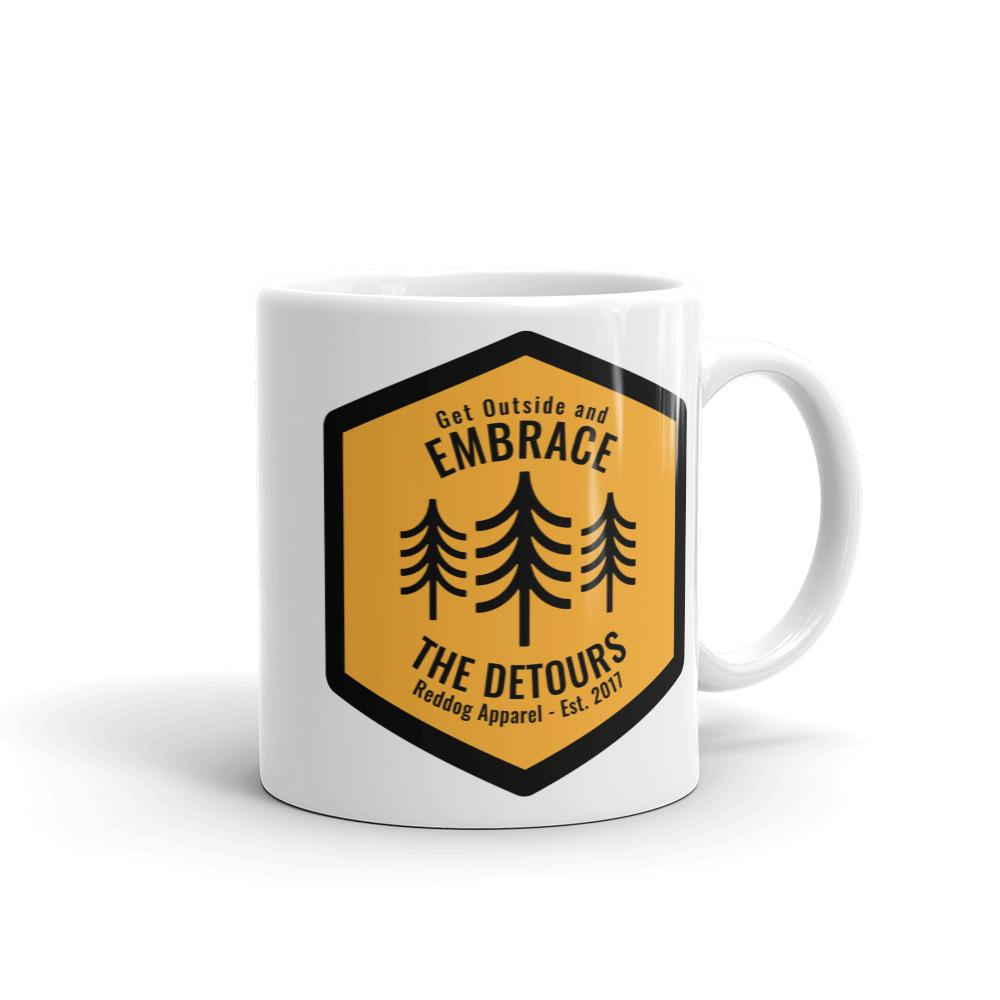 Get Outside Embrace the Detours Coffee Mug