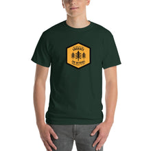 Get Outside Embrace the Detours Mens Shirt Green