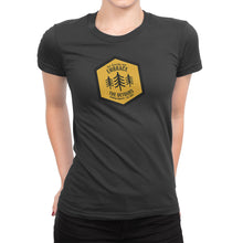 Get Outside and Embrace the Detours Sign Womens Shirt