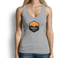 Get Outside Embrace the Detours Womens Tank Top Gray