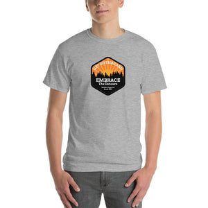 Get Outside Embrace the Detour Mens Shirt Gray