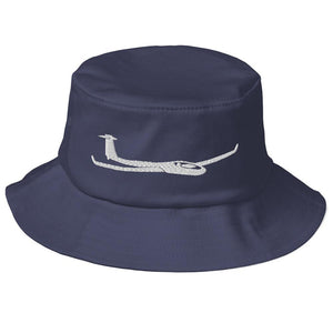 Glider/Soaring Bucket Hat Blue