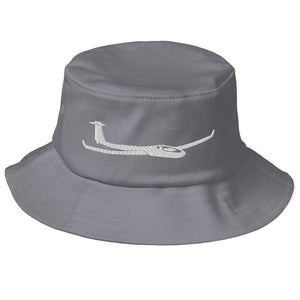 Glider/Soaring Bucket Hat Gray