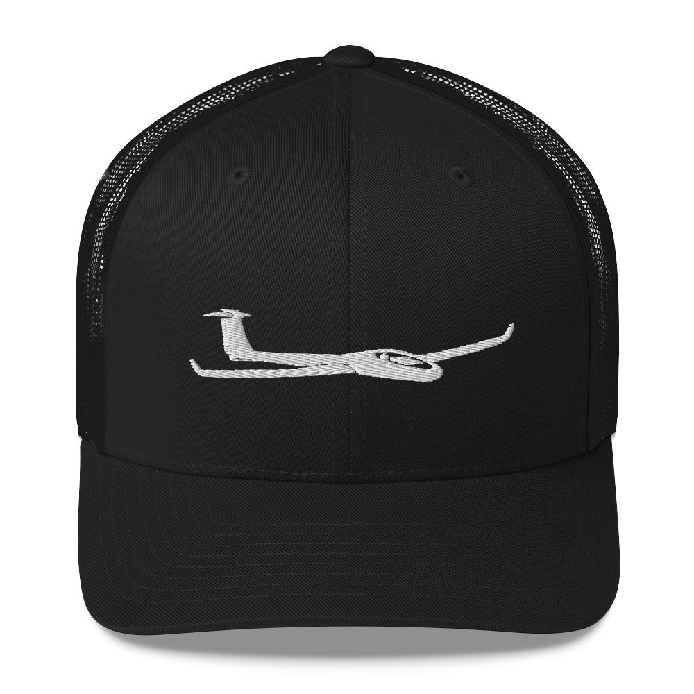Glider/Soaring Trucker Hat Black