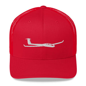 Glider/Soaring Trucker Hat Red