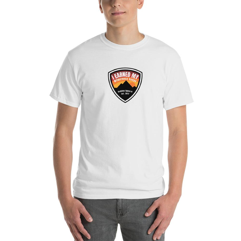 I Earned My Wilderness Badge Mens Shirt White