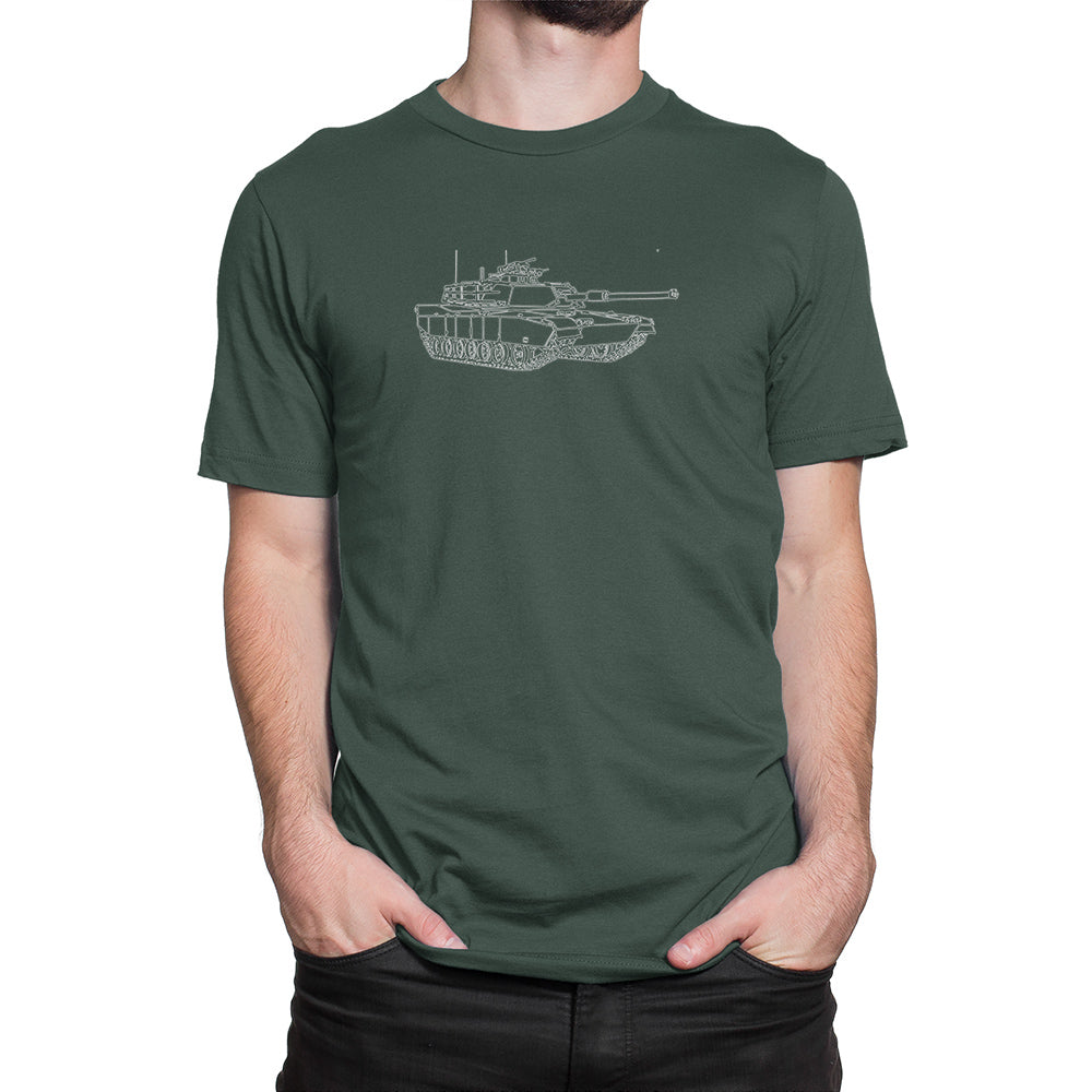Miltary Tank Shirt Green
