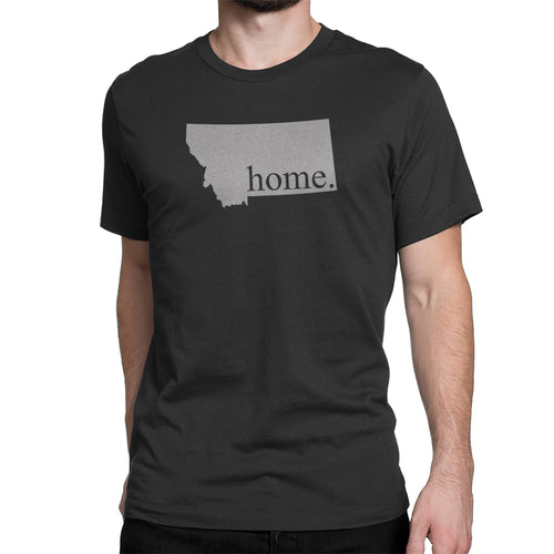 Black Montana Home. Mens Shirt