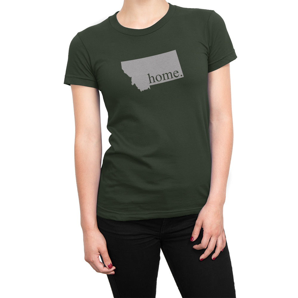 Green Montana Home. Womens Shirt