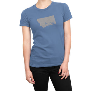 Light Blue Montana Home. Womens Shirt