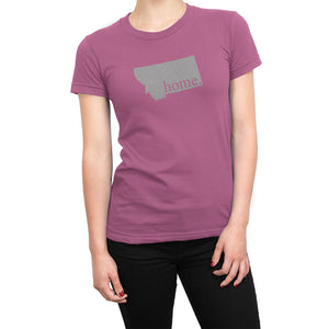Pink Montana Home. Womens Shirt