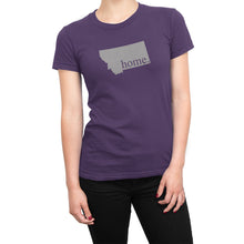 Purple Montana Home. Womens Shirt
