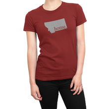 Red Montana Home. Womens Shirt