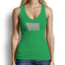 Green Montana Home. Womens Tank Top