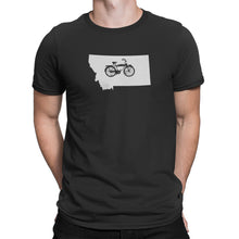 Montana State Bicycle Logo Shirt Black