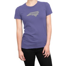 Purple North Carolina Home. Womens Shirt