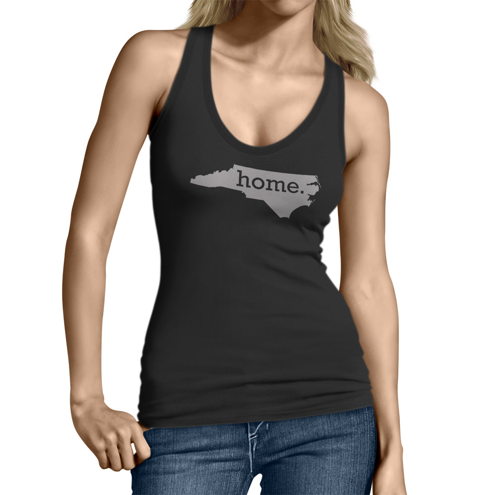 Black North Carolina Home. Womens Tank Top
