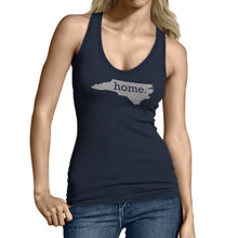 Blue North Carolina Home. Womens Tank Top