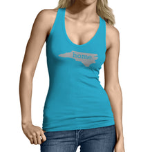 Light Blue North Carolina Home. Womens Tank Top