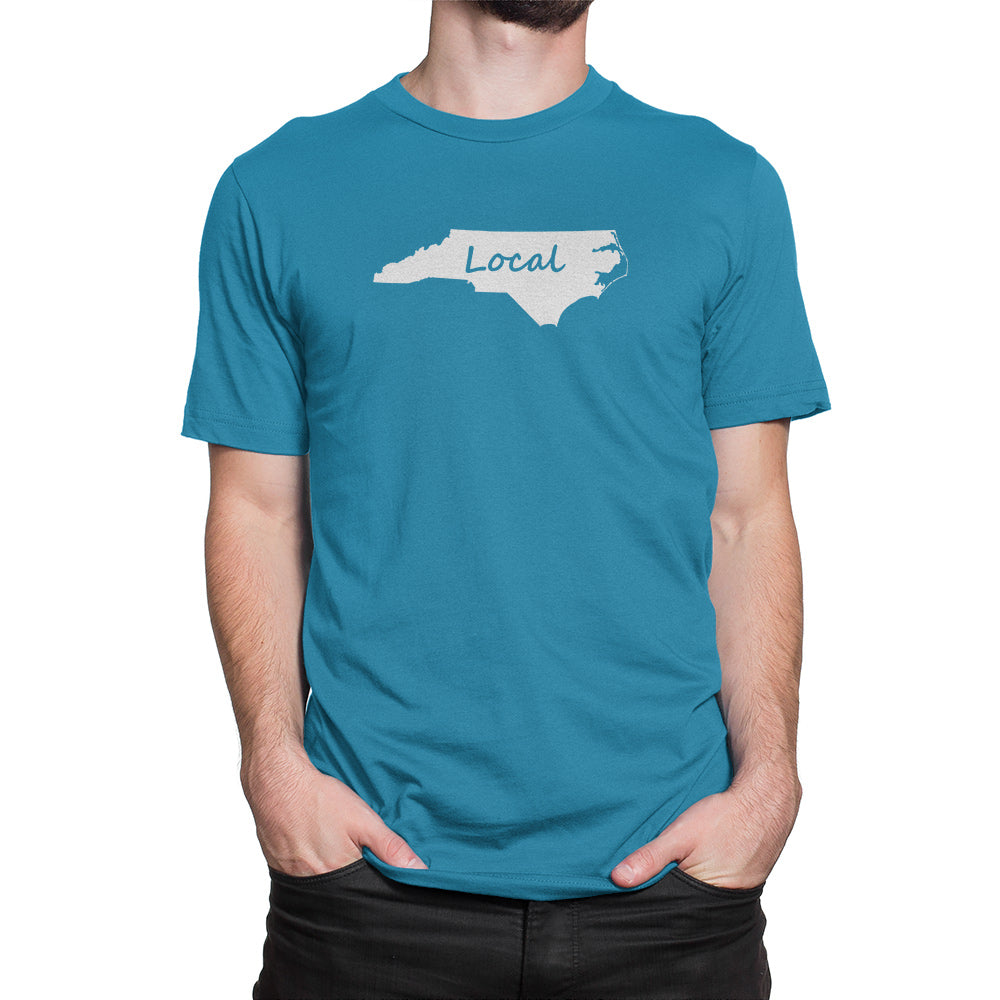North Carolina Local Shirt Sapphire