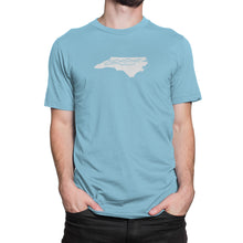 North Carolina Mountains Shirt Light Blue