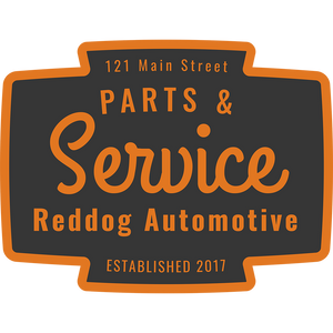 Reddog Automotive Parts and Service Logo