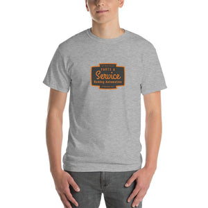 Reddog Automotive Parts and Service Mens Shirt Gray