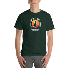 Trees Give Life Save a Tree Mens Shirt V2 Green