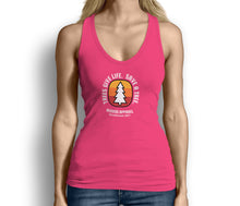 Trees Give Life Save a Tree Womens Tank Top Pink