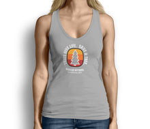 Trees Give Life Save a Tree Womens Tank Top Gray