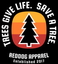 Trees Give Life Save a Tree Mens Logo