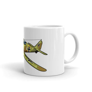 German Focke-Wulf FW-190 Airplane Coffee Mug with Handle