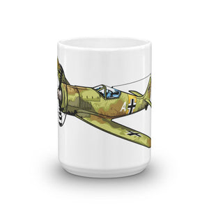 German Focke-Wulf FW-190 Airplane Coffee Mug Large