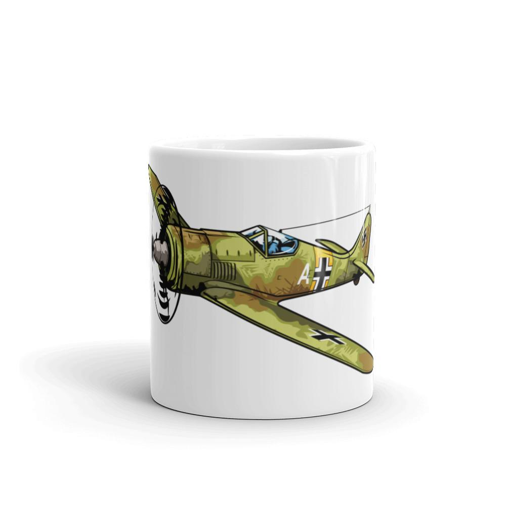 German Focke-Wulf FW-190 Airplane Coffee Mug