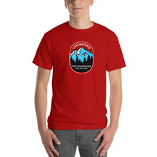 Concentrate, The Mountains Are Calling Mens Shirt Red