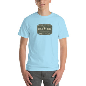 Reddog Outfitters Duck Shot Ammunition Light Blue Mens Tshirt